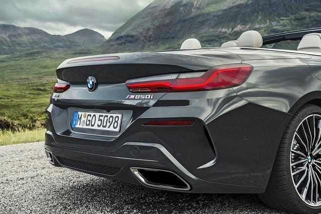 BMW M850i Cabrio - Massiver Auftritt
