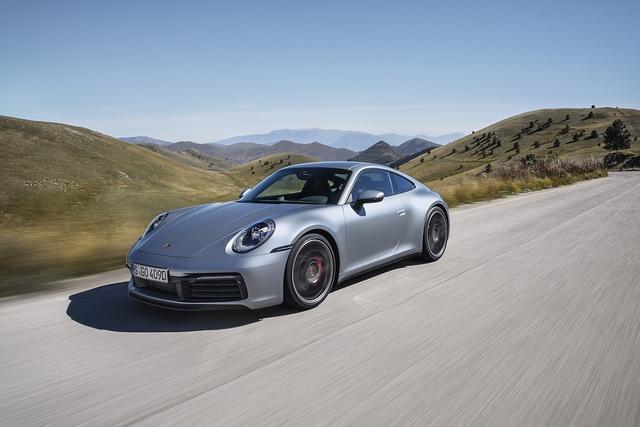 Porsche 911 Baureihe 992 - Nummer acht!
