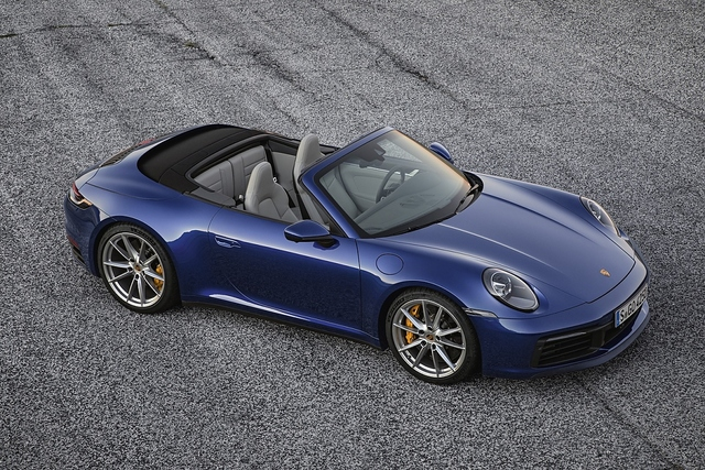 Porsche 911 Cabriolet Baureihe 992 - Frühlingsgefühle