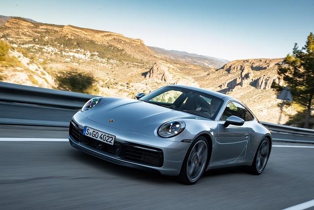 Porsche 911 Carrera S - Dynamischer Umkehrschluss