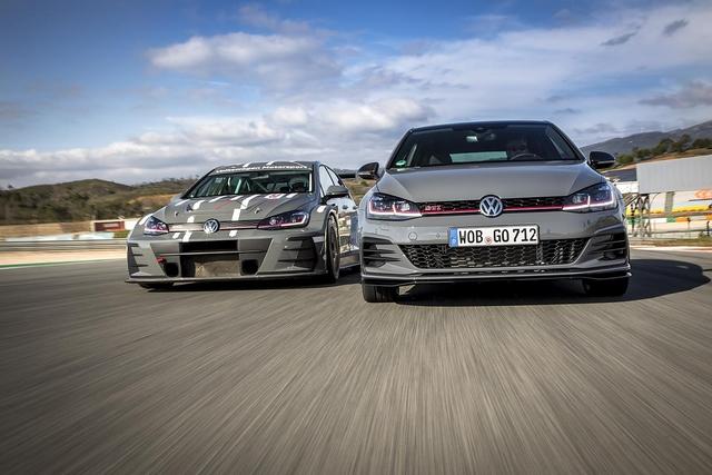 VW Golf GTI TCR - Rennwagen-Gene