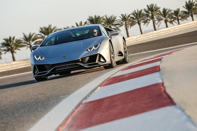 Lamborghini Huracan Evo - 1-6-5-10-2-7-3-8-4-9