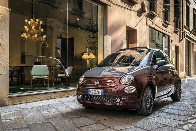 Fiat 500C 1.2 Collezione - Liebling der Frauen
