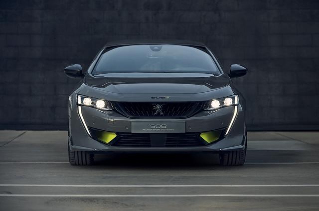 Concept 508 Peugeot Sport Engineered Neo-Performance - Aufgeladen