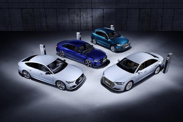 Neue Plug-In-Hybriden bei Audi - Frühlingserwachen