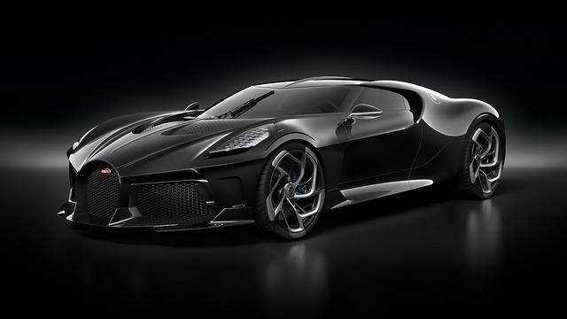 Bugatti La Voiture Noire - Elf Millionen Euro Auto