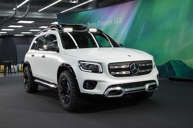 Mercedes GLB Concept 2019 - Der neue Star