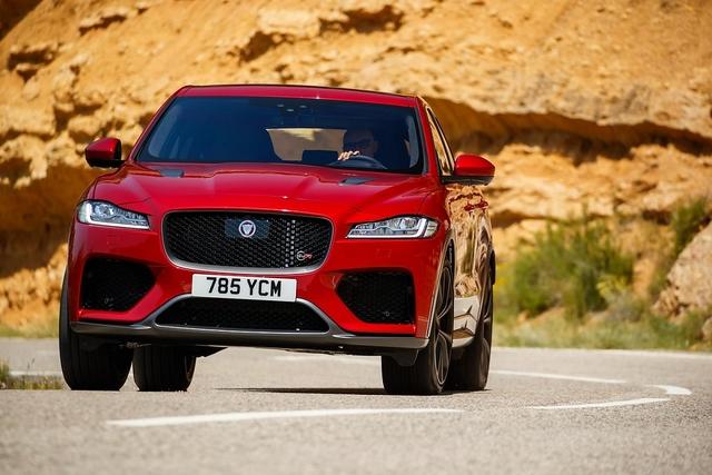 Fahrbericht: Jaguar F-Pace SVR - Britisches Understatement