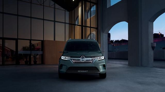 Renault Kangoo Z.E. Concept - Staub aus dem Blaumann klopfen