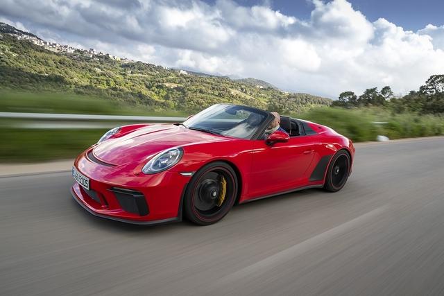 Porsche 911 Speedster - Flieger grüߑ mir die Sonne