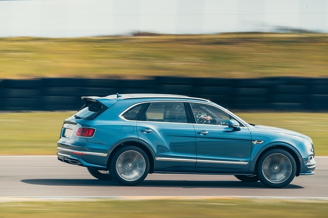 Bentley Bentayga Speed - Donner und Doria
