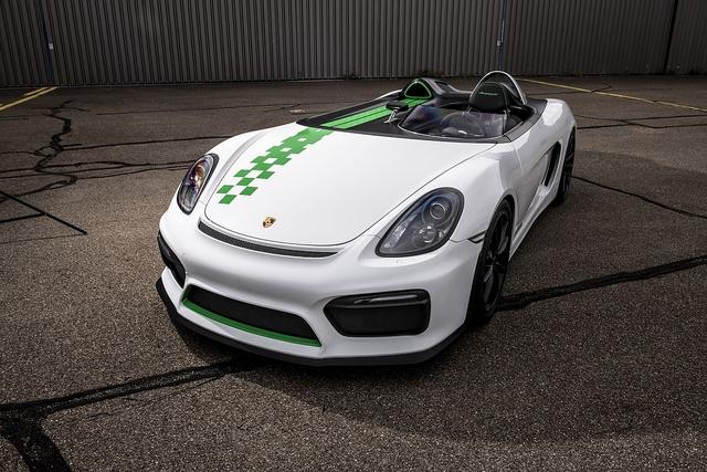 Porsche 981 Bergspyder - Weniger Boxster geht nicht