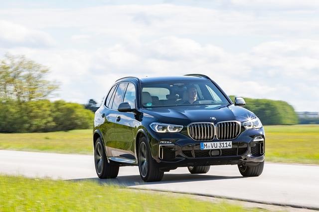 BMW X5 M 50d - Gegendruck
