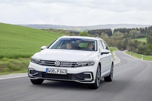 VW Passat Variant GTE - Technologieträger