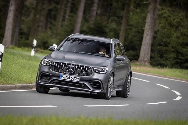 Mercedes AMG GLC 63 S+ 4matic - Mit Nachdruck
