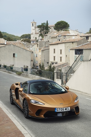 McLaren GT - Fahrerflüsterer