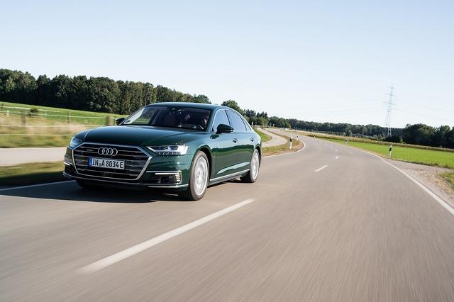 Audi A8L 60 TFSIe quattro - Leisetreter