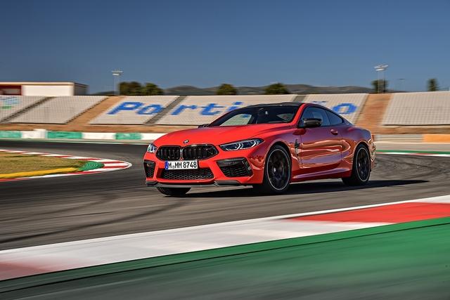 BMW M8 Coupé Competition - Donnerwetter