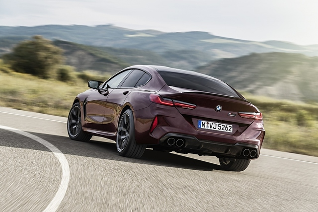BMW M8 Gran Coupé - Daniel Düsentrieb