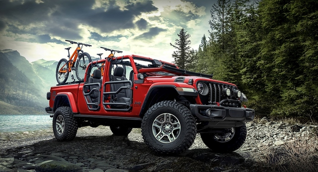 Jeep Gladiator Rubicon Mopar 3.6 V6 - Harter Hund