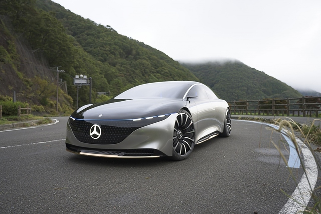 Mercedes Vision EQS - Gefahr im Verzug