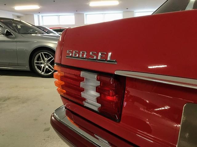 Mercedes 560 SEL W126 von 1991 - Wenn Brandmeister träumen