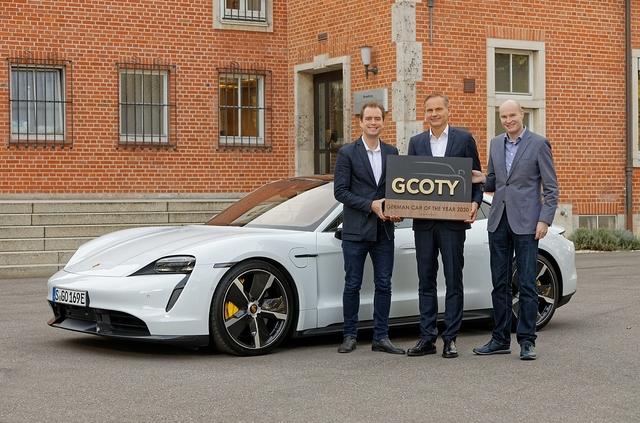 German Car of the Year - Porsche Taycan ist Auto des Jahres 2020
