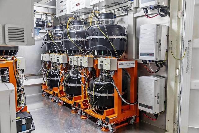 Kinetische Energiespeicher helfen bei Lade-Engpässen - Ladung durch Drehung