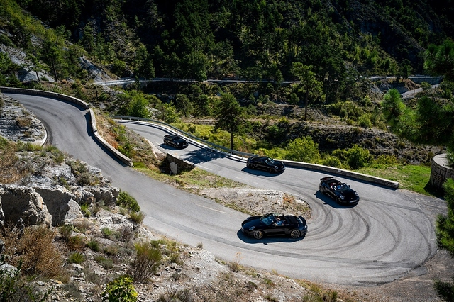 Erprobung Porsche 911 Turbo Baureihe 992 - Traumstart