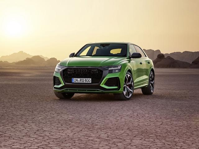 Audi RS Q8 - Knall auf Fall