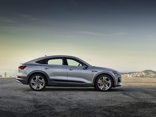 Audi E-Tron Sportback - Rück-Sicht