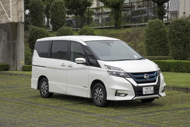 Nissan Serena e-Power - Familienfreundlich