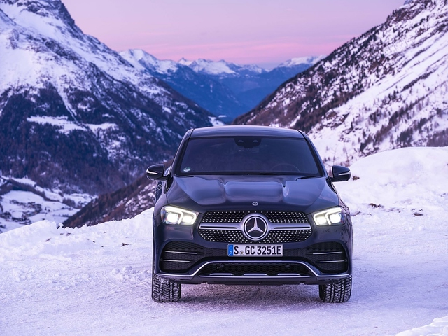 Mercedes GLE Coupé 350 de - Härtetest