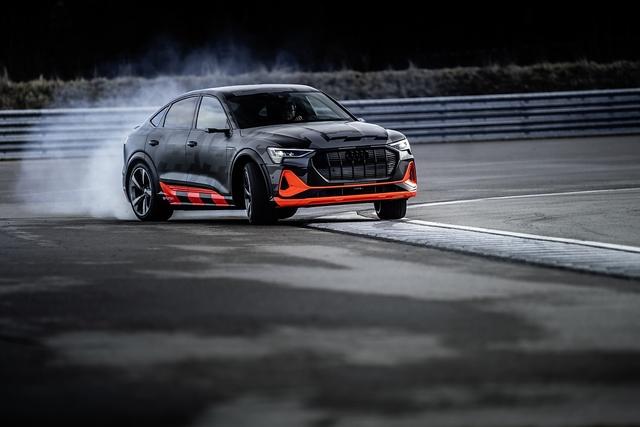 Audi E-Tron S Sportback - Die Kraft der drei Herzen