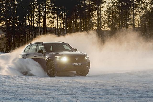VW Touareg R Hybrid - Bullenritt
