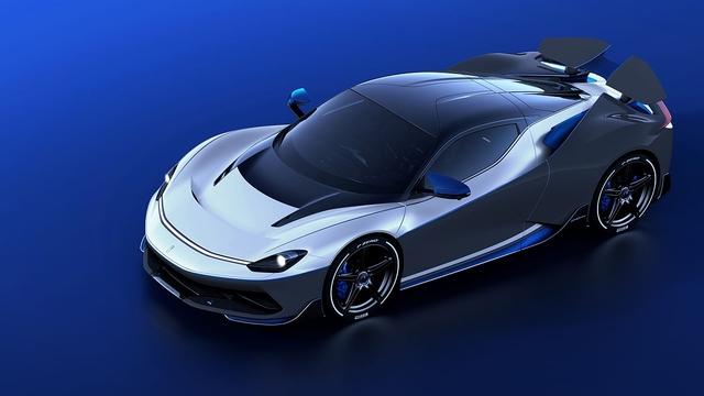 Automobili Pininfarina Battista Anniversario - Feuriger Jahrgang