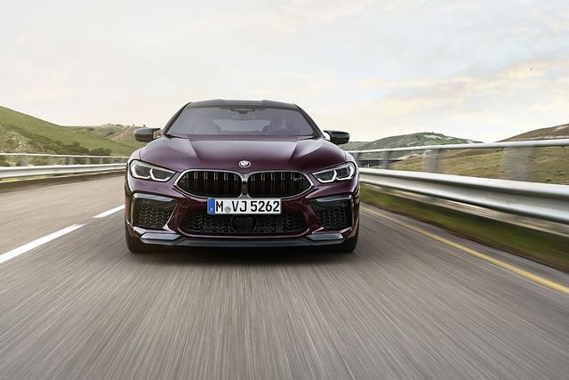 BMW M8 Gran Coupé Competition - Auf Panamera-Jagd