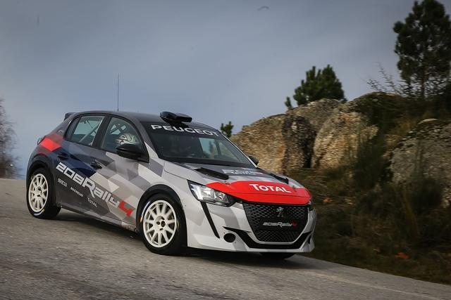 Peugeot 208 Rally 4 - Übungsgerät