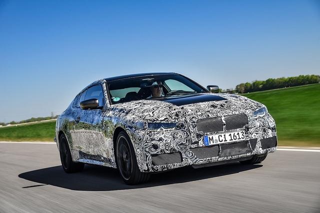 Prototypen-Erprobung BMW 4er - Das Skalpell