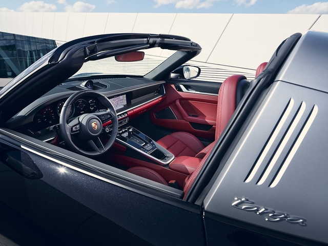 Porsche 911 targa 4 7 4S - Sturmhaube