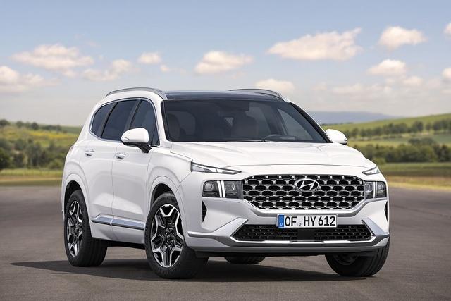 Hyundai Santa Fe 2020 - Neue Basis