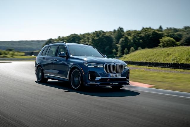 BMW Alpina XB7 - Allein auf weiter Flur
