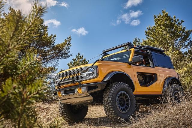 Ford Bronco 2021 - Den Wrangler im Visier