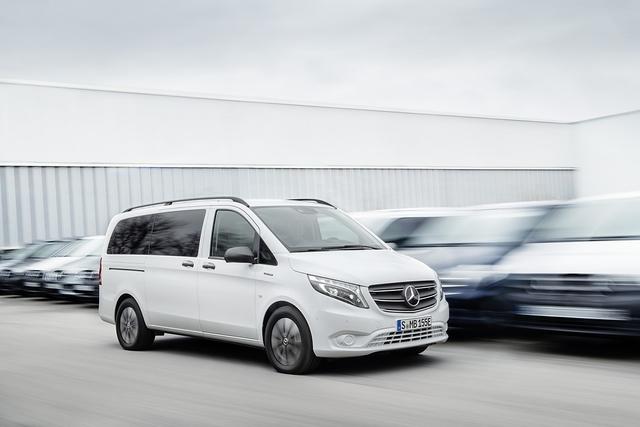 Mercedes eVito 2020 - Stadtgespräch