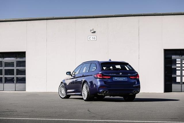 BMW Alpina B5 - Langstreckenspurt
