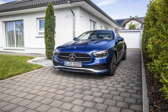 Mercedes E 400d Coupé - Entspannungsformel