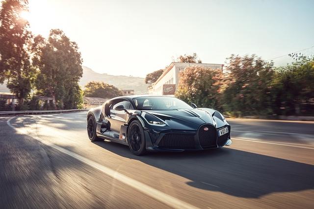 Im Bugatti Divo auf der Targa Florio - Nur Fliegen ist schöner