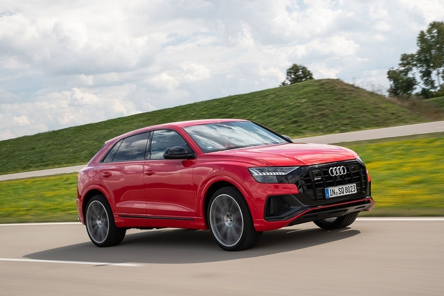 Audi SQ8 TFSI - Nicht nur Wumms