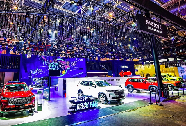 Auto China 2020 in Peking - The Show must go on