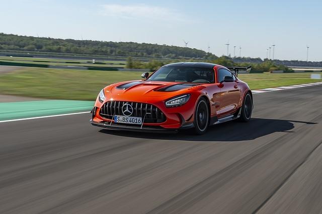 Mercedes AMG GT Black Series - Gefahr im Verzug